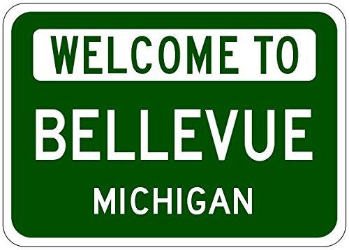 Bellevue Michigan Sign