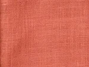 48 wide rust color jute burlap fabric by the yard for Colored burlap fabric