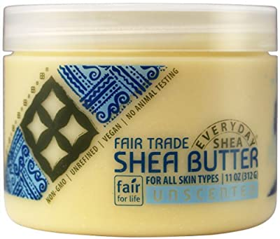 Alaffia Everyday Shea Pure Unrefined Shea Butter, 11 oz