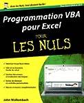 Programmation VBA pour Excel 2010 et...