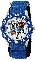 Marvel Kids The Avengers Thor W001537 Analog Display Analog Quartz Blue Watch