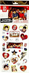 One Direction 25 Piece Stickers by United Pacific Distribution
