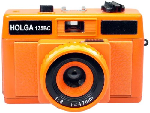 Cheapest Price! Holga Holgaglo 135 Camera - Aura Orange