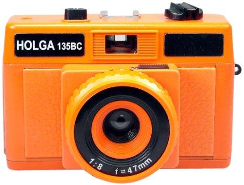 Cheapest Price! Holga Holgaglo 135 Camera - Aura Orange