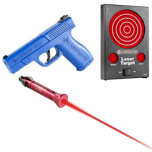 Laserlyte Center Mass Laser Sight For Lcp: Laserlyte Bullseye Training Kit, Laser Plinking Can Kit