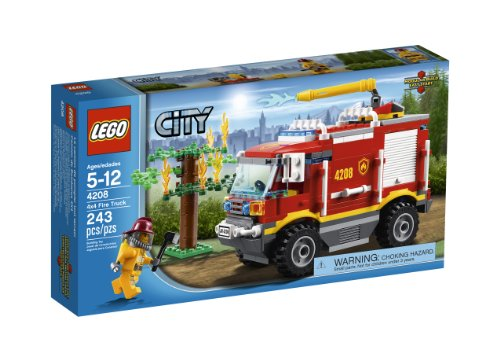 LEGO City 4X4 Fire Truck 4208 (Lego Truck And Camper compare prices)