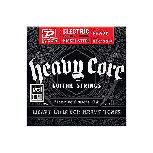 Dunlop Dhcn1048 Heavy Core Nps Electric Guitar Strings
