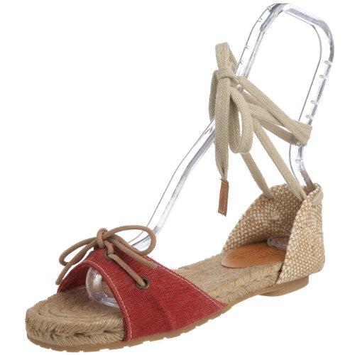 Timberland Women's Sandal 7B Espadrille Red CE005 7.5 UK