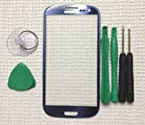 Pebble Blue Replacement Screen Glass Lens for Any Samsung Galaxy S3 i9300 &Tools