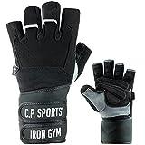 C.P. Sports Profi-Gym-Doppelbandagen-Handschuh
