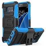 MoKo Galaxy S7 Hülle - [Heavy Duty Serie] Outdoor Dual...