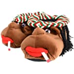 Mens Slippers - Cosy Rasta Man Charac...