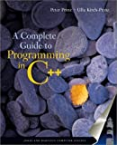 img - for A Complete Guide to Programming in C++: This Title is Print on Demand by Ulla Kirch-Prinz (2001-08-20) book / textbook / text book