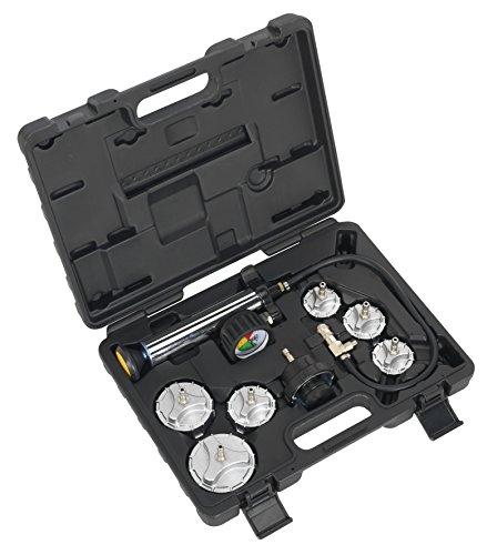 Sealey CV0011 Cooling System Pressure Test Kit, Set of 7