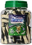 Twistix 50 Count Dog Treat, Small, Vanilla Mint Flavor