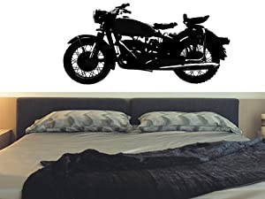 Diy Motorcycle Vinyl Wall Sticker Decal