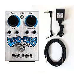 Way Huge Echo-Puss Analog Delay Pedal WHE702S + Power adapter and cables! from Dunlop
