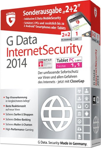 G Data InternetSecurity 2014 - 2+2, PC