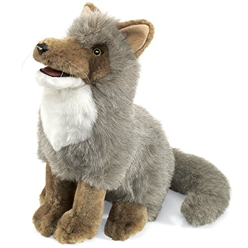 Folkmanis Coyote Hand Puppet