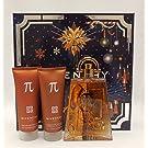 Givenchy Pi Gift Set w/ Eau De Toilette Spray 3.3 Oz. + All Over Shampoo 2.5 Oz. + After Shave Balm Alcohol Free 2.5 Oz.
