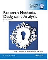 Research Methods, Design, and Analysis, 12th Edition Front Cover