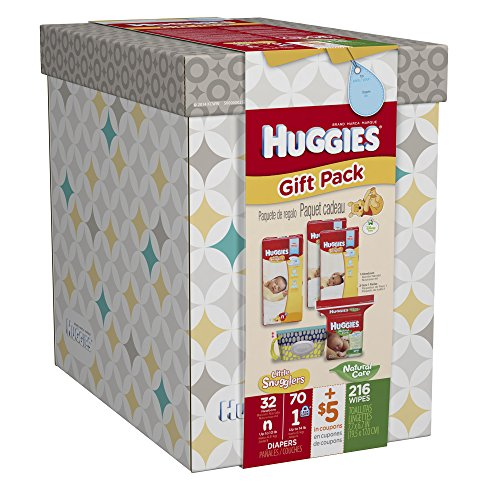 Huggies Little Snugglers Gift Pack, 5 Count