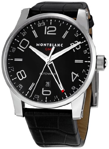 Montblanc Men's 36065 Timewalker Black Dial Watch