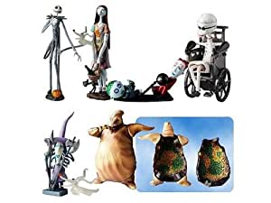 Tim Burton's the Nightmare Before Christmas Trading Figure Series 1 Set of 6