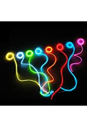 9ft Blue Neon Glowing Strobing Electroluminescent Wire (El Wire)