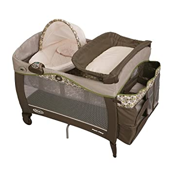 Graco Pack 'n Play with Newborn Napper Elite Play Yard - Calypso