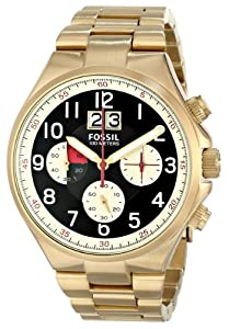 Fossil Men's CH2911 Qualifier Analog Display Analog Quartz Gold Watch