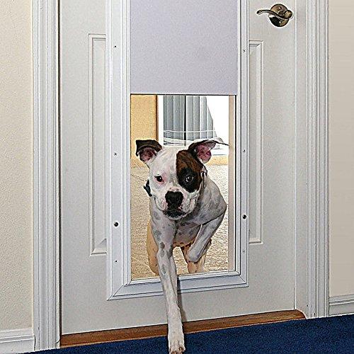 Performance Electronic Wall Mount Pet Door-Large - Bronze - Improvements