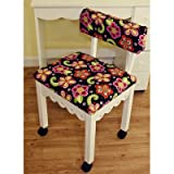 Arrow Home Indoor Art Room Decor Furniture Kids Children Newcastle Fabric Sewing Chair 5001 With Storage Cabinet White