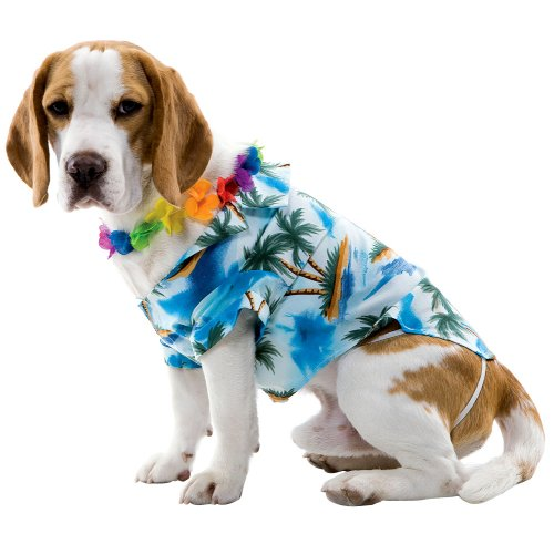 Hawaiian Dog Pet Costume