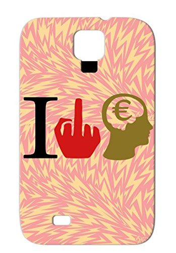 News Politics Wall Street Dollars Euro Occupy I Hate Financial Sharks Of In The Debt Crisis Durable Brown For Sumsang Galaxy S4 Protective Case front-237817