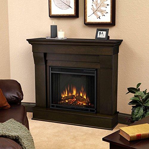 Chateau Electric Fireplace Finish: Dark Walnut image