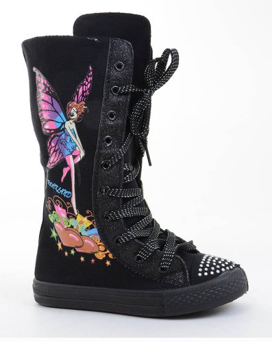 knee high lace up sneaker boots fourever funky
