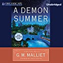 A Demon Summer: A Max Tudor Mystery, Book 4 (       UNABRIDGED) by G.M. Malliet Narrated by Michael Page