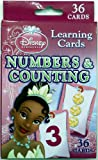 Disney Princess Numbers and Counting Learning Game Cards