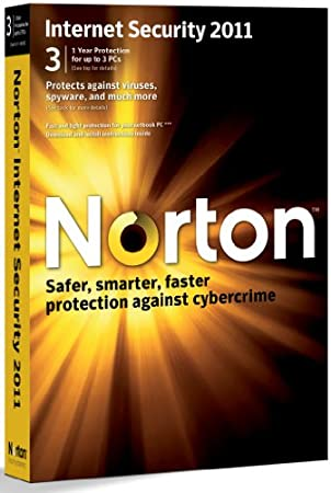 Norton Internet Security 2011, 3 Computers, 1 Year Subscription (PC)