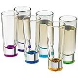 Libbey Troyano Colors Shot Glass Set 6-Piece