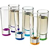 Libbey Troyano Colors Shot Glass Set, 6-Piece