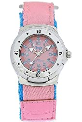 Terrain Ladies/Girls Pink Boardrider Sports Surf Watch-Velcro Strap+Rotating Bezel-50m Water Resitant-1418