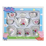 Peppa Pig 10pc Porcelain Mini Tea Set