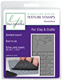 Lisa Pavelka 327152 Texture Stamp Kit Round About