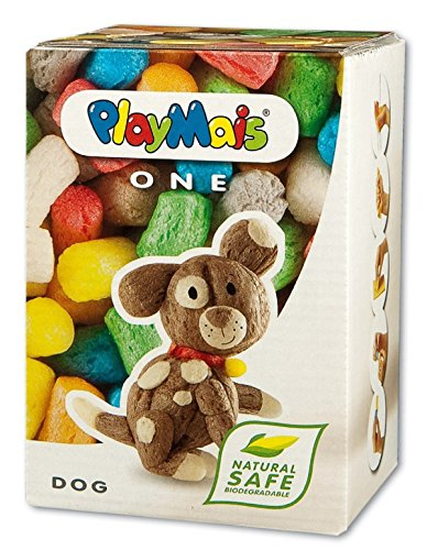 Playmais ONE Dog - Creative Arts and Crafts Building Box - 1
