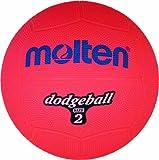 Molten DB2-R Ballon de dodgeball Rouge