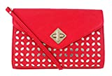 Abrazo Style Diva Women's Clutch(Red)(SIKN838)