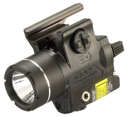 Streamlight 69246 Tlr-4 H&K Usp Compact Rail Mounted Tactical Light With Integrated Green Laser And Wide Operating Range