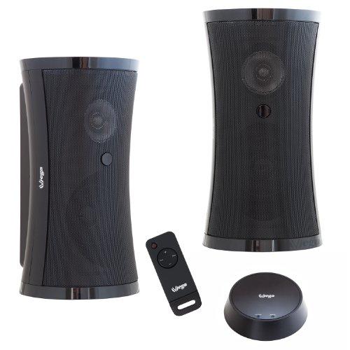 Enceintes acoustiques sans fil Wifi Puissance sinusoî¯dale 2 î -  5W avec télécommande (Enceinte d'extérieur étanches)